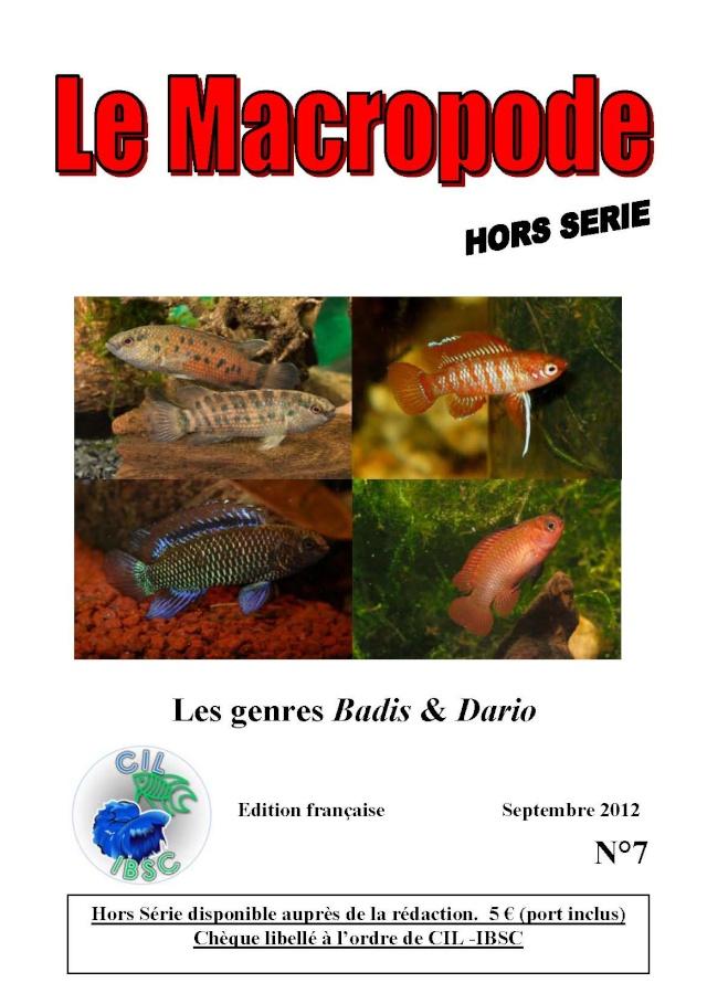 Sommaire de la revue du Macropode. Couv_b10