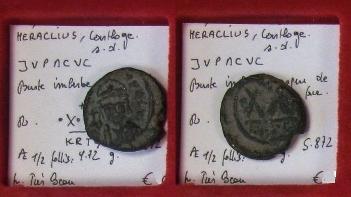 Byzantine coins - Page 15 Heracl10