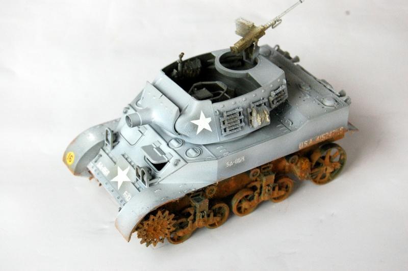 peinture - M-8 Gun motor carriage - Char terminé Dsc_0438