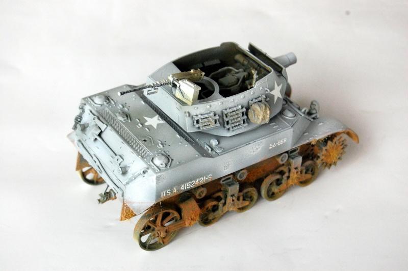 peinture - M-8 Gun motor carriage - Char terminé Dsc_0439