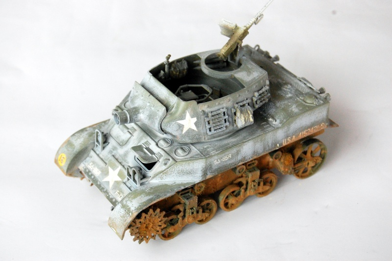 peinture - M-8 Gun motor carriage - Char terminé Dsc_0440