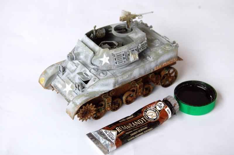 peinture - M-8 Gun motor carriage - Char terminé Dsc_0442