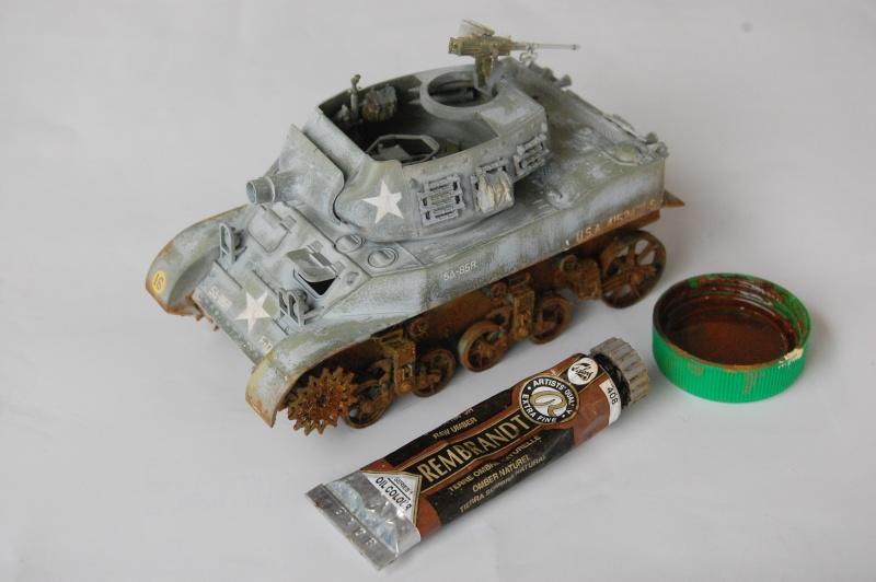 peinture - M-8 Gun motor carriage - Char terminé Dsc_0446