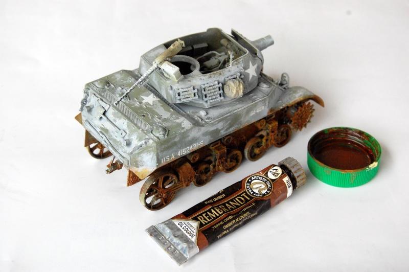 peinture - M-8 Gun motor carriage - Char terminé Dsc_0447