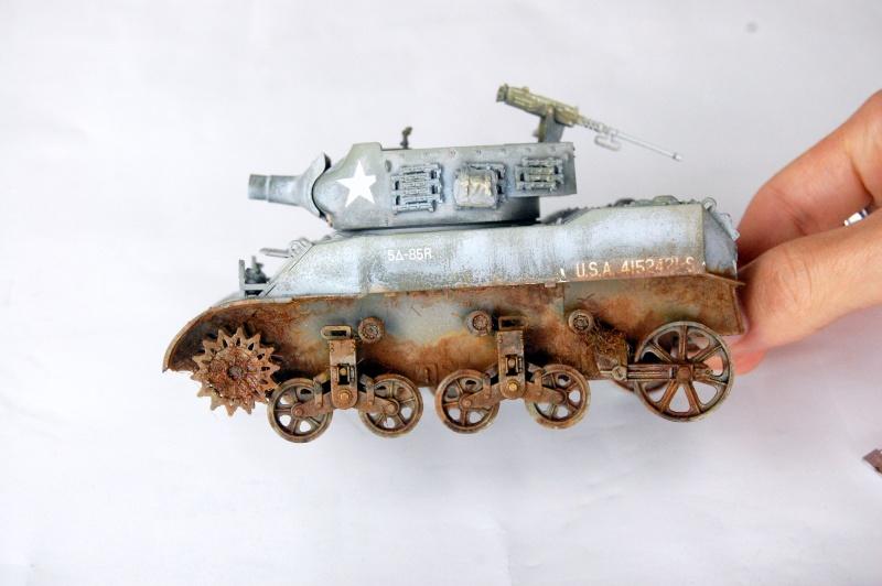 peinture - M-8 Gun motor carriage - Char terminé Dsc_0448