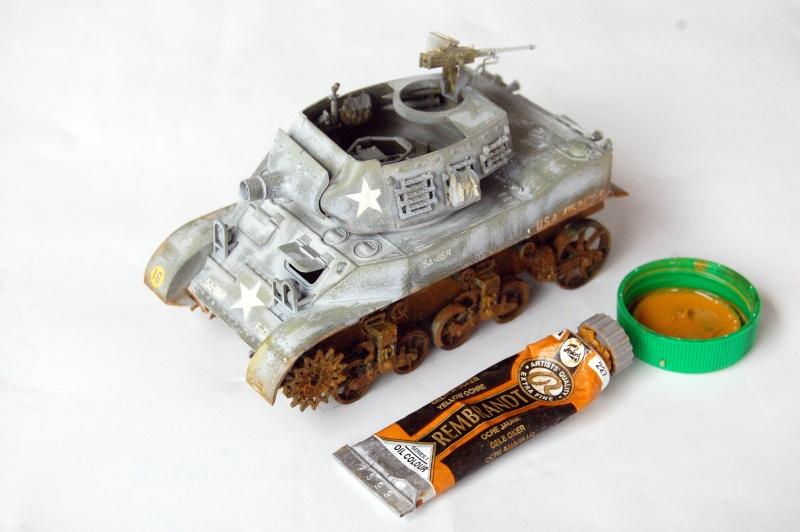 peinture - M-8 Gun motor carriage - Char terminé Dsc_0449