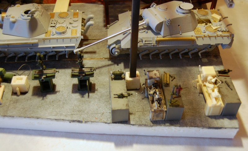 peinture - Diorama - Sortie d'usine ! - l'aventure continue - vues d'ensemble et l'arrière - Page 12 Dsc_3422