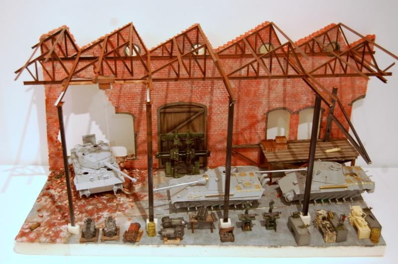 peinture - Diorama - Sortie d'usine ! - l'aventure continue - vues d'ensemble et l'arrière - Page 13 Dsc_3510