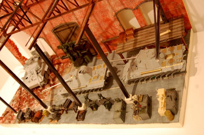peinture - Diorama - Sortie d'usine ! - l'aventure continue - vues d'ensemble et l'arrière - Page 13 Dsc_3511