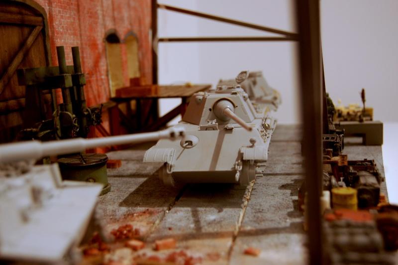 peinture - Diorama - Sortie d'usine ! - l'aventure continue - vues d'ensemble et l'arrière - Page 13 Dsc_3513