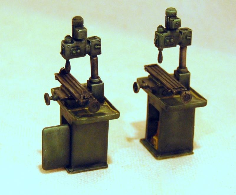 peinture - Diorama - Sortie d'usine ! - l'aventure continue - vues d'ensemble et l'arrière - Page 13 Perceu11