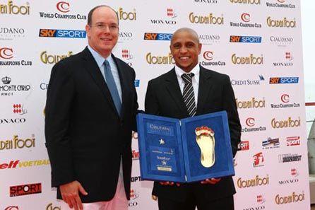"""""""Golden Foot"""" Roberto Carlos un 2008-010"""