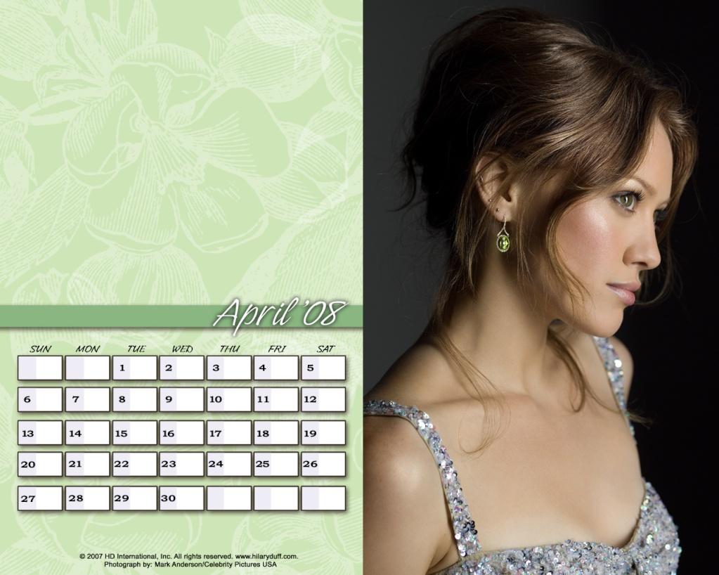 Календари на Хил April10