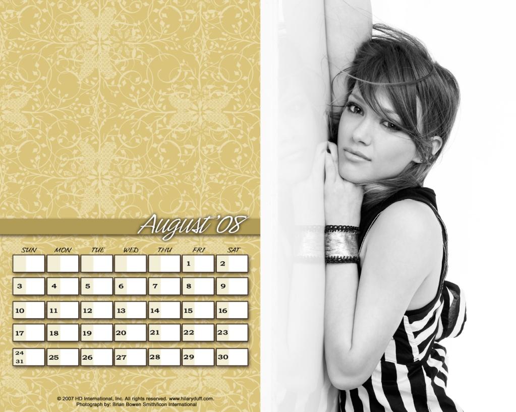 Календари на Хил Avgust10