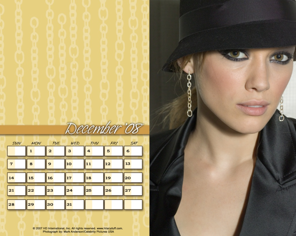 Календари на Хил Decemv10
