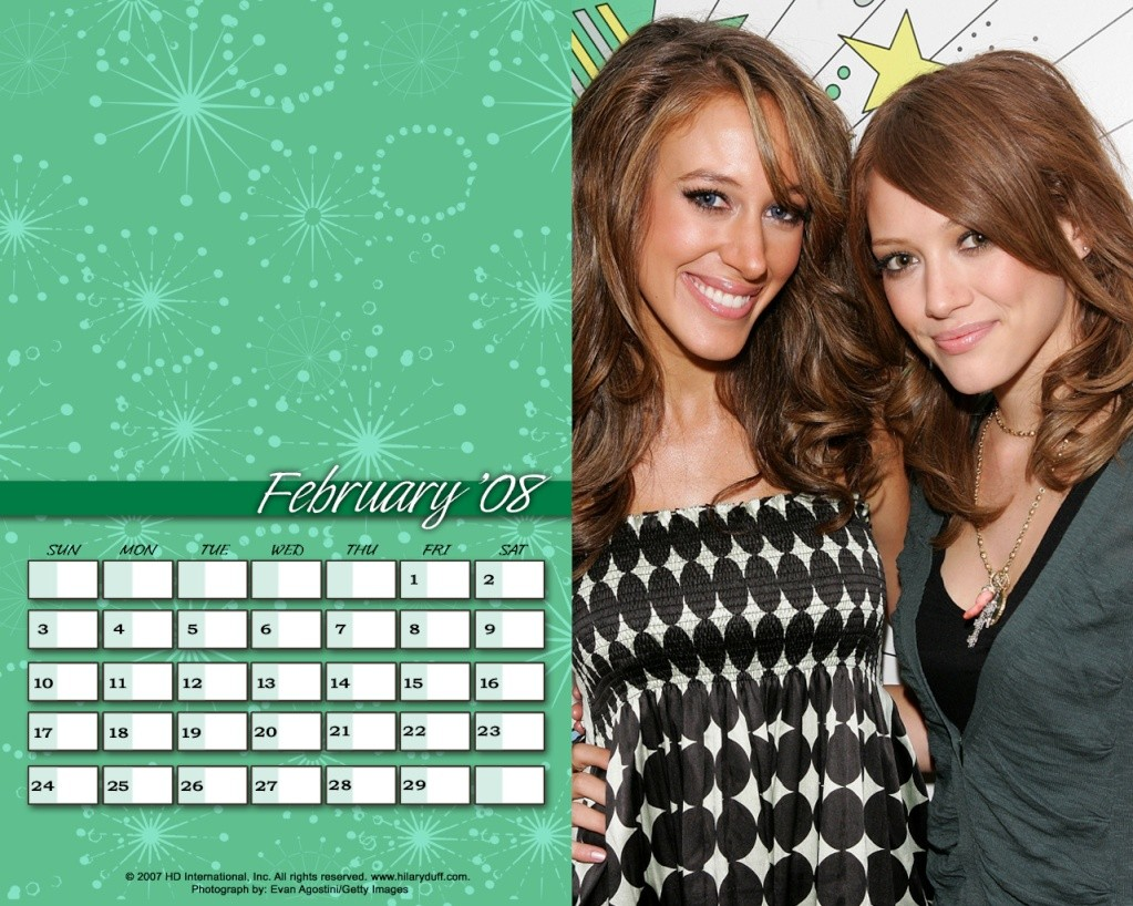 Календари на Хил Fefrua10