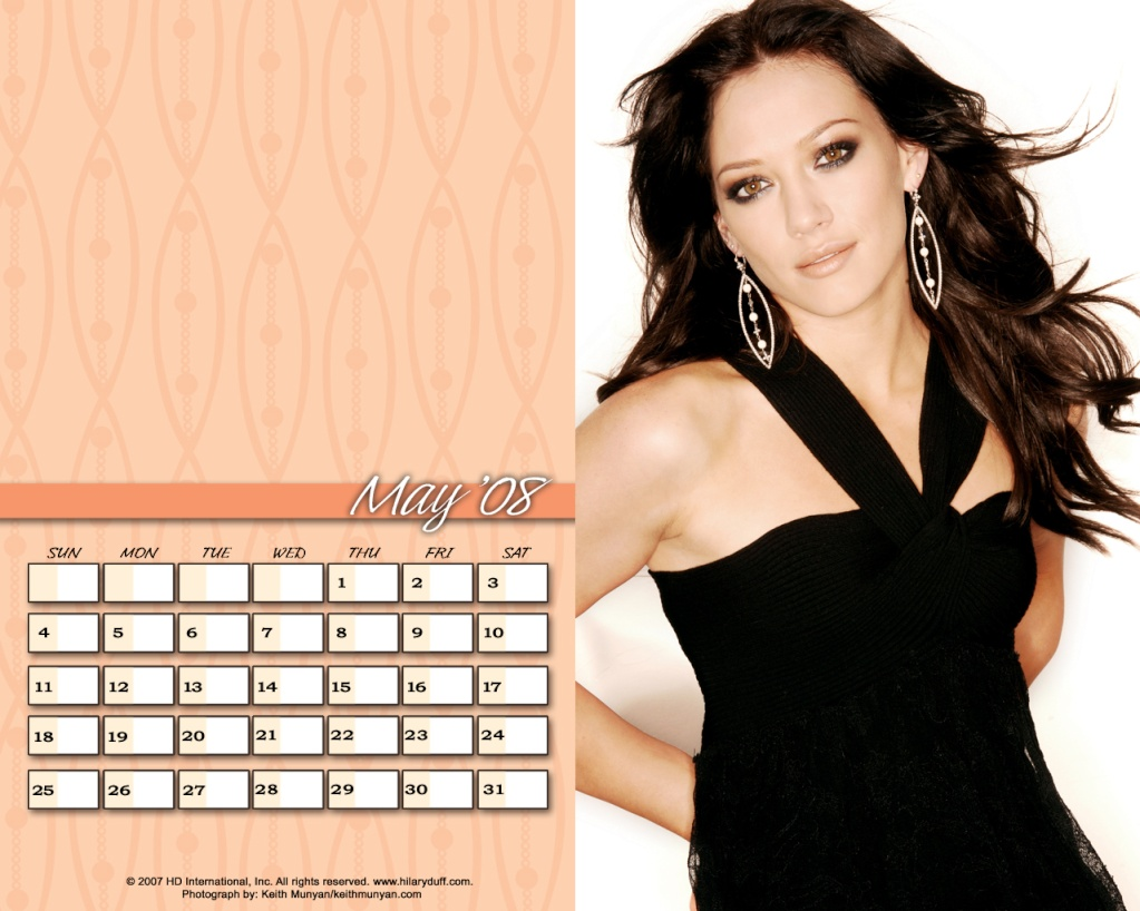 Календари на Хил Mai10