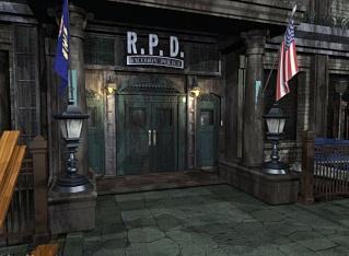 "R.P.D ""Departamento de policia de Raccon City"""