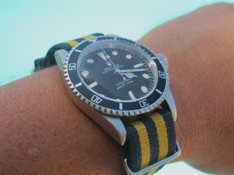 Rolex Vintage et Nato ! Img_4226