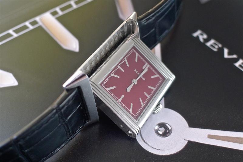 """Jaeger Lecoultre reverso """" Edition spéciale rouge """" L1040515"""