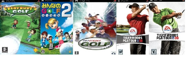 All golf games Everyb10