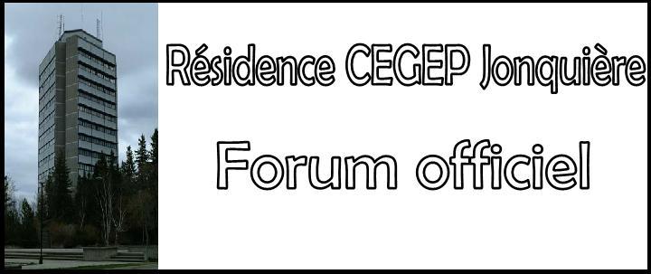 Forum  Résidence du CEGEP de Jonquière