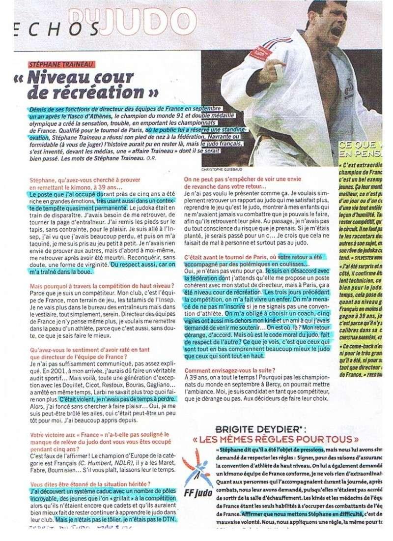 Traineau Stéphane, et si c'était le prochain patron de la FFJDA et du judo Français ? Photo_13