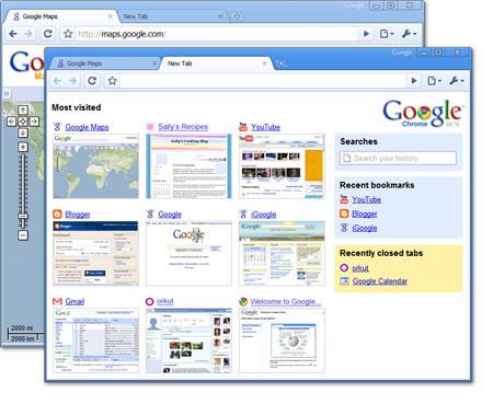 Google Chrome: Google's new web browser 6a00d810