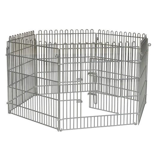 Cage grillagé et parc à chien Verybi10