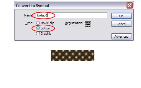 Como fazer um botão no flash. Btn210