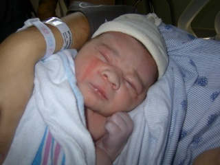 My little guy is finally here!! Pict3012