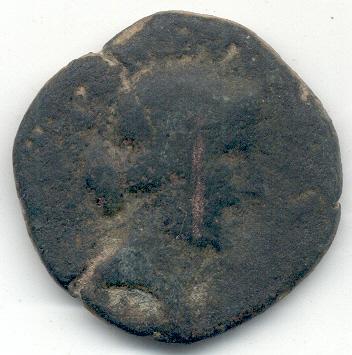Dupondio de Emerita Augusta, reinado de Augusto. Sext110