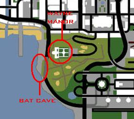 Begins Batcave New Location Found Map13