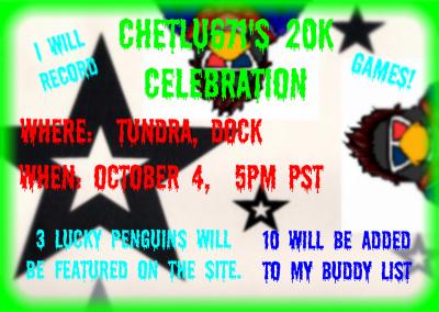 Chetlu671's 20k Hits Celebration! Invite10