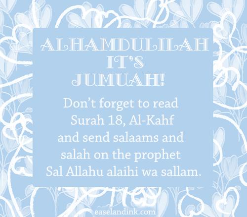 Jumu'ah Naseehah : Examples for Good Ends Jumuah10
