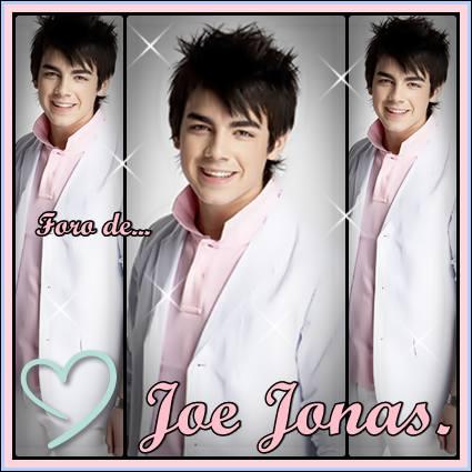 Foro de Joe Jonas
