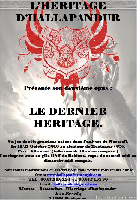 Gn L'heritage d'Hallapandur Affich10