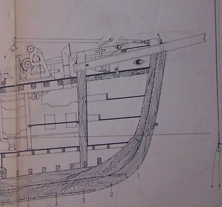 La Curieuse Ketch 1912au 1/20 sur plans  100_2815
