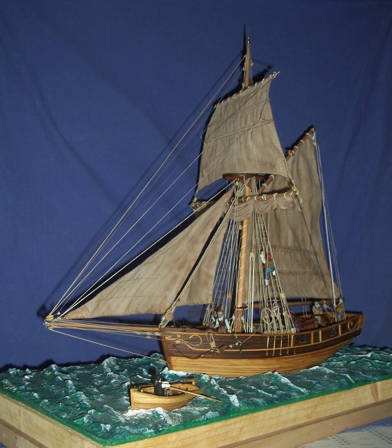 Dio : Contrebande en mer d'Iroise (base Camaret 1/35e) de guillemaut CapCoeurdemiel 100_4595