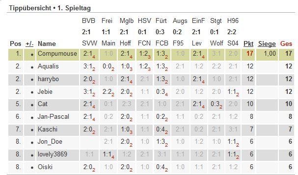 Bundesliga-Tipp 2012/13 Tipp10