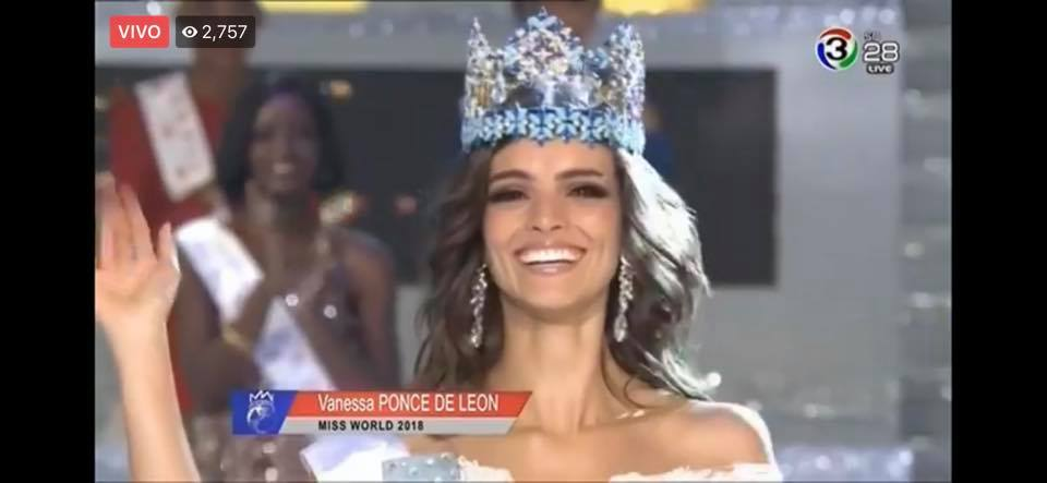 Official Thread of Miss World 2018 ® Vanessa Ponce De León - MEXICO 47376510