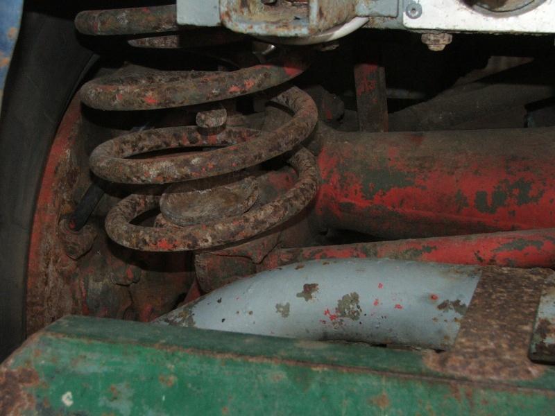 cannelure de tambour usées 401 Unimog17