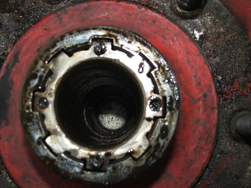 cannelure de tambour usées 401 Unimog18