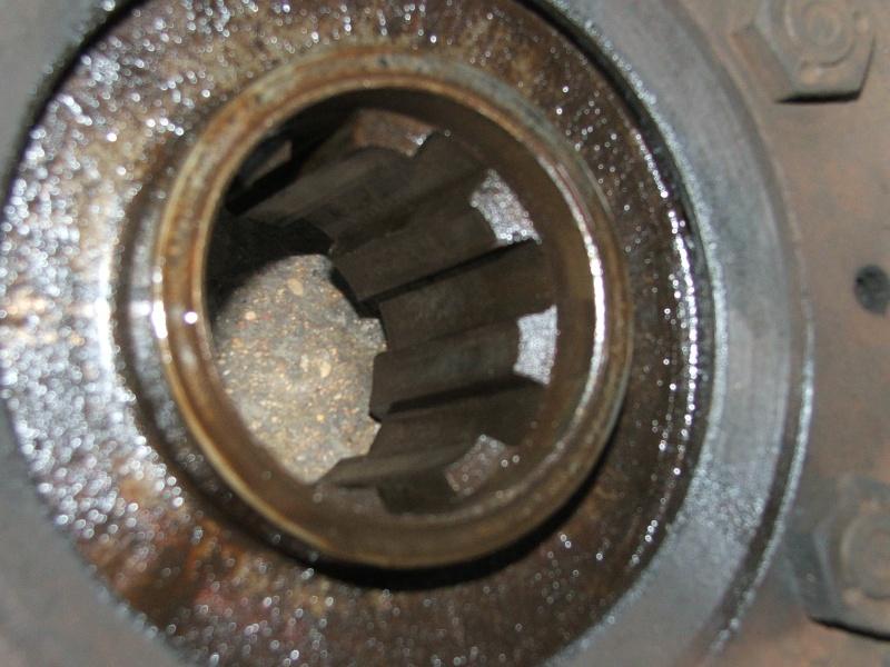 cannelure de tambour usées 401 Unimog19