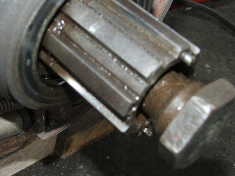cannelure de tambour usées 401 Unimog20