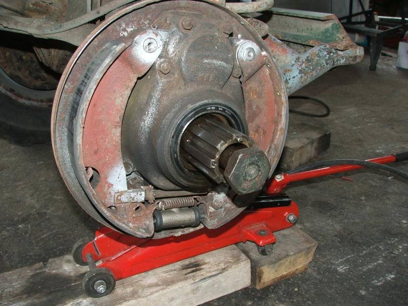 cannelure de tambour usées 401 Unimog21