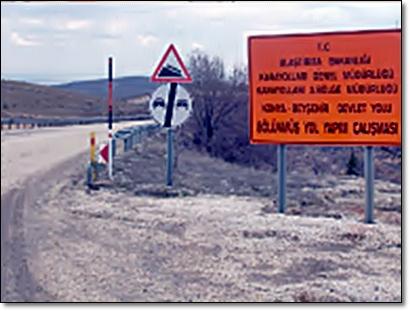 Beyşehir Konya bölünmüş yolda kamulaştırma A7ytjr10