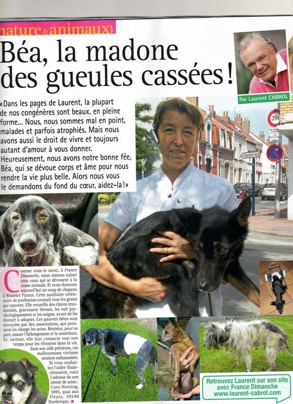 Cani-Nursing dans France Dimanche Articl10