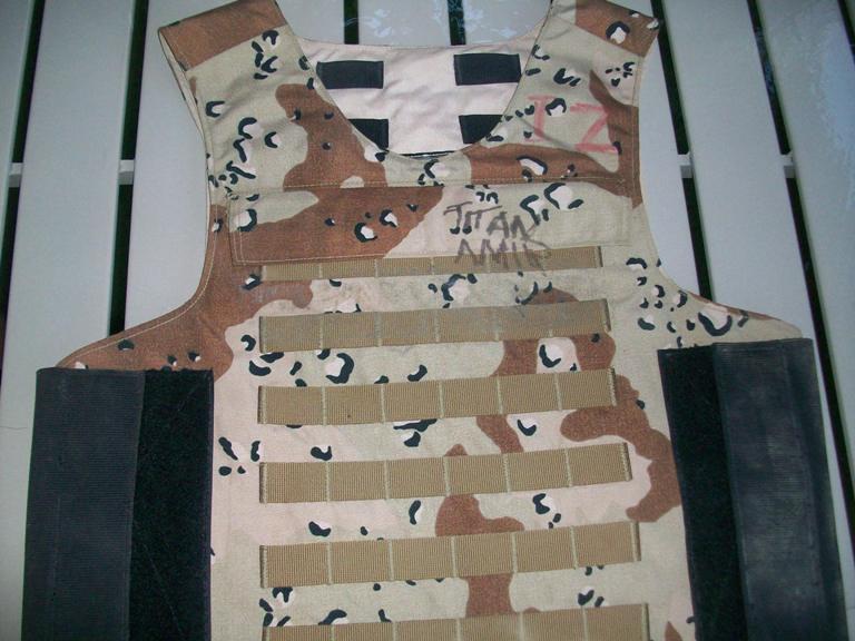 """Iraqi """"Terp"""" Body Armor 01010"""