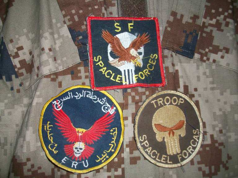Iraqi Special Forces Patch - Theater Made 01014